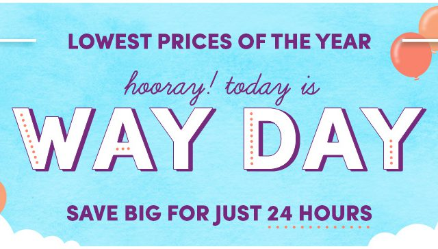 Way Day! (Wayfair)