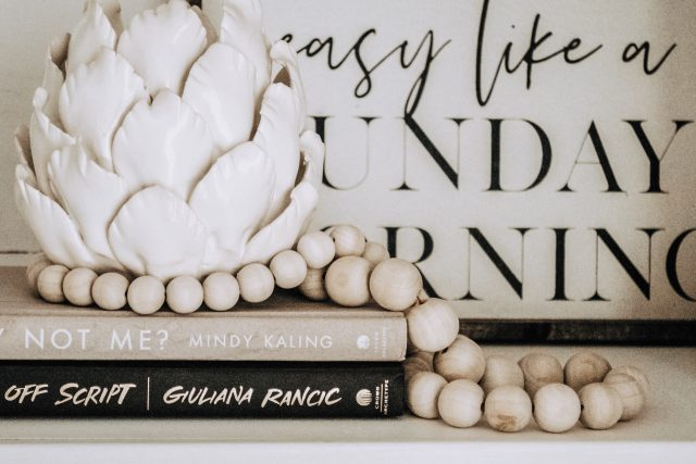 Wooden Garland: DIY