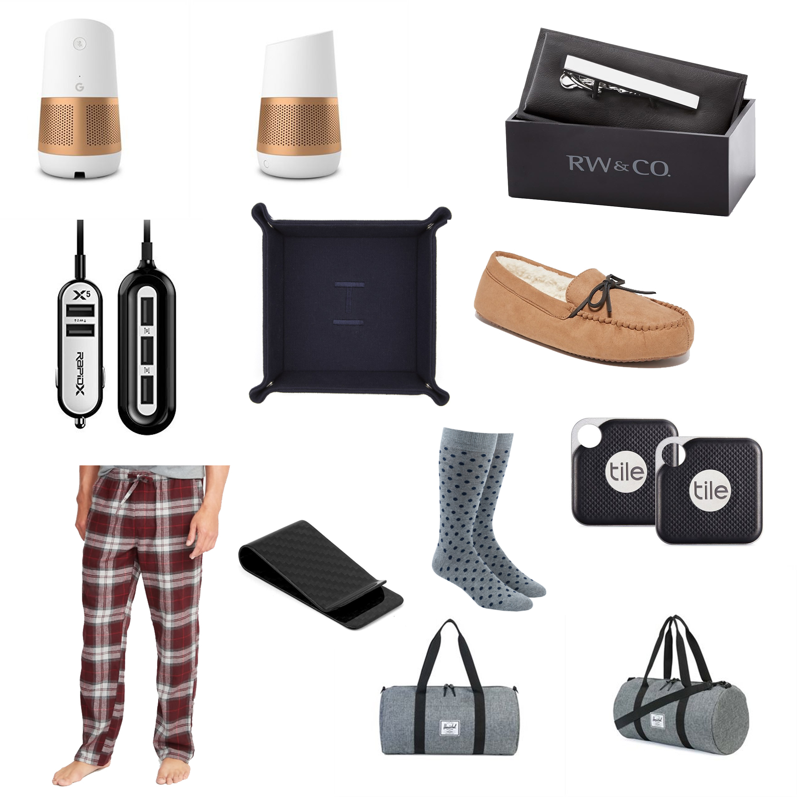 Pastels and Passion Holiday Gift Guide (for him)