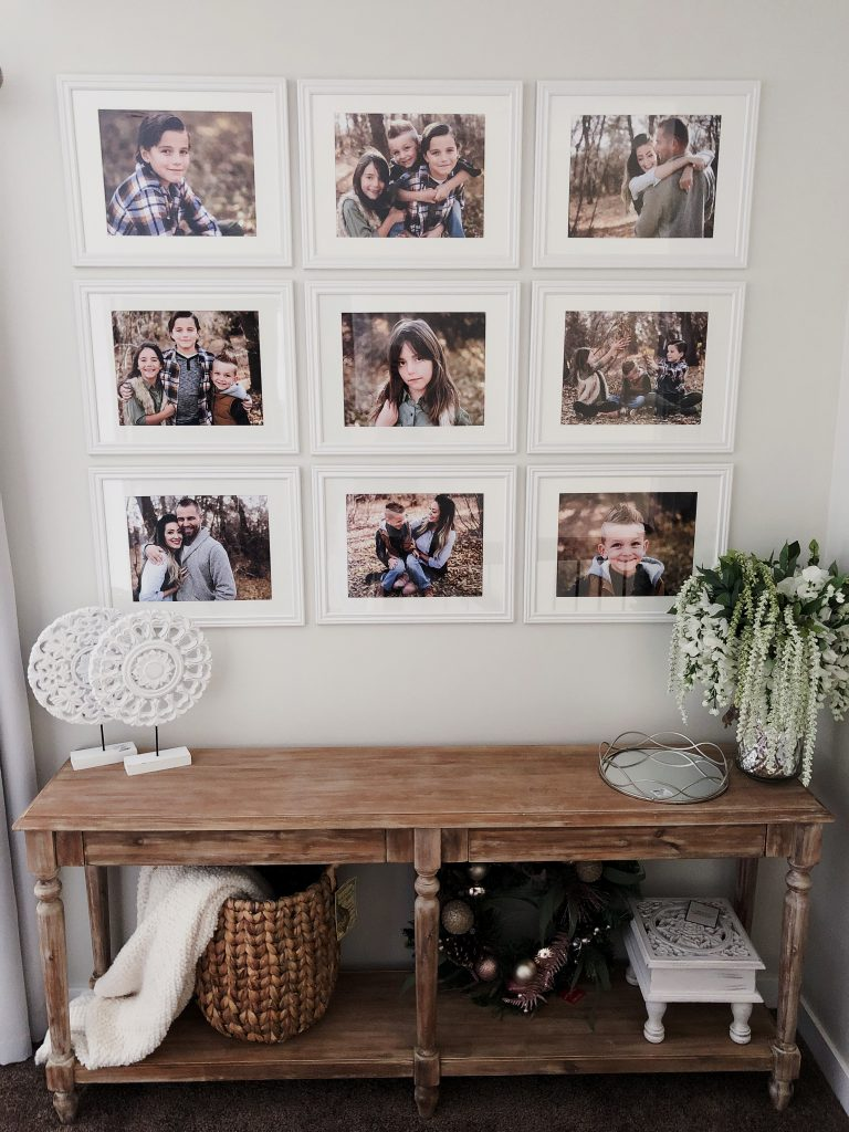 Our Gallery Wall & the Foyer Table That Started It All!